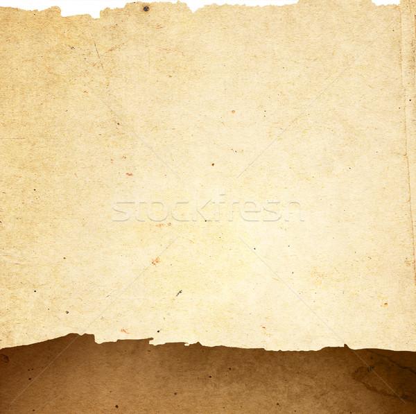 Vintage papieru starego papieru tekstury doskonały przestrzeni Zdjęcia stock © ilolab