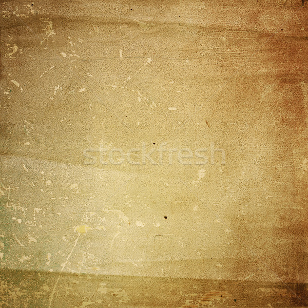 Stock photo: Grunge vintage texture old paper