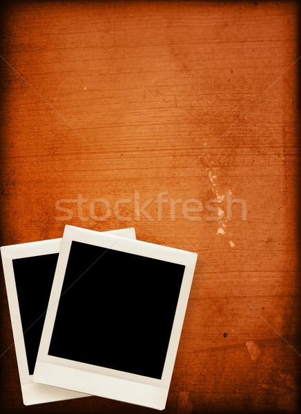 vintage instant photo Stock photo © ilolab