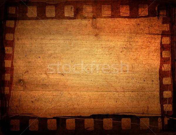 кинопленка текстуры фоны кадр фильма Сток-фото © ilolab