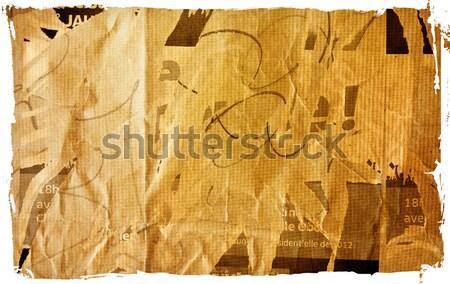 Papel velho texturas perfeito espaço textura fundo Foto stock © ilolab
