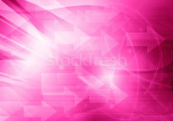 Resumen galaxia perfecto espacio texto imagen Foto stock © ilolab