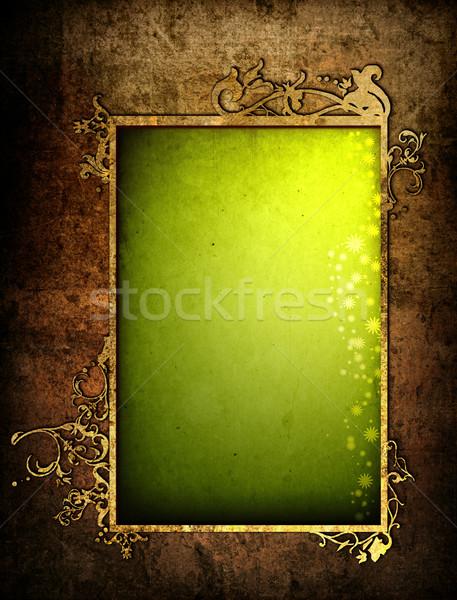 floral style textures Stock photo © ilolab