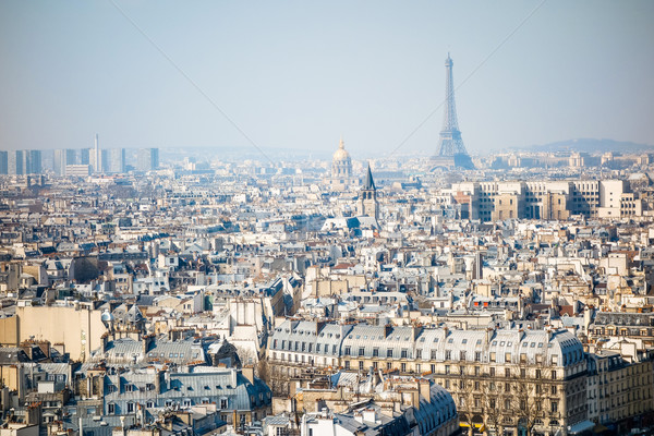 The Eiffel Tower (nickname La dame de fer, the iron lady),The to Stock photo © ilolab