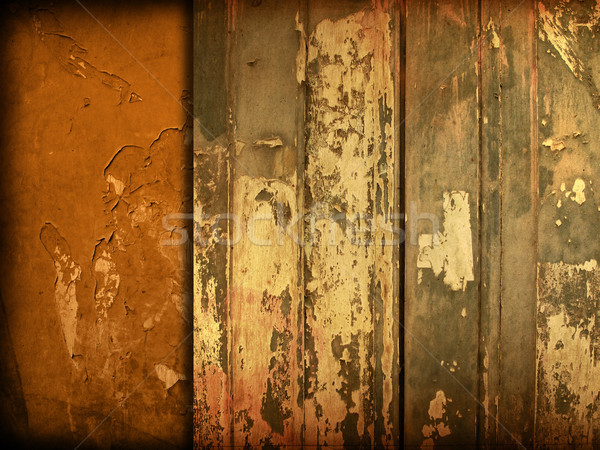wood grungy background  Stock photo © ilolab