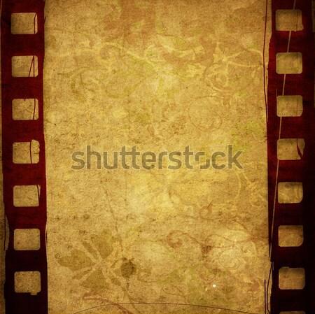 Magnifique bande de film textures horizons espace fond Photo stock © ilolab