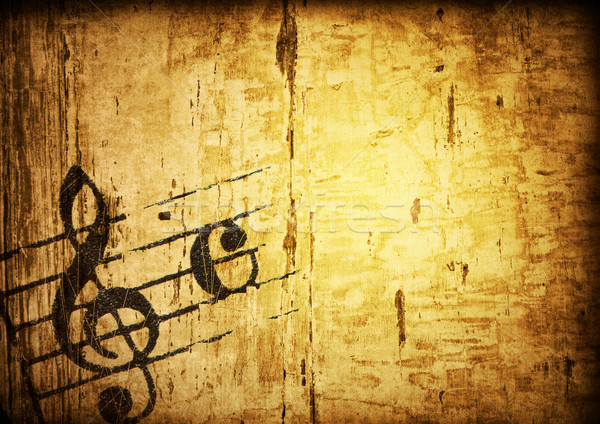 Grunge melodia streszczenie tekstury środowisk przestrzeni Zdjęcia stock © ilolab