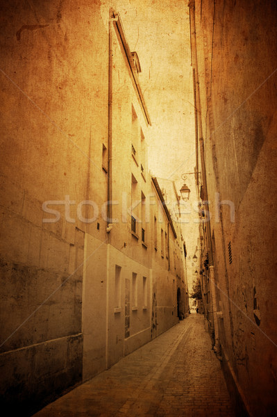 beautiful Parisian streets  Stock photo © ilolab