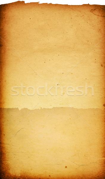 ヴィンテージ 紙 古い紙 テクスチャ パーフェクト スペース ストックフォト © ilolab