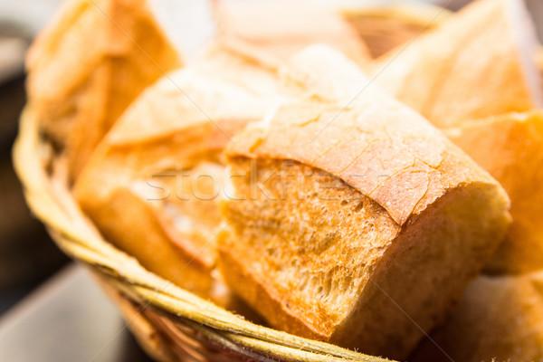 bread in basket  Stock photo © ilolab