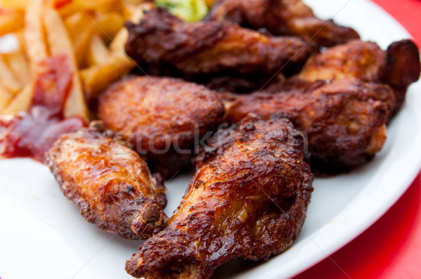 Chicken wings  Stock photo © ilolab