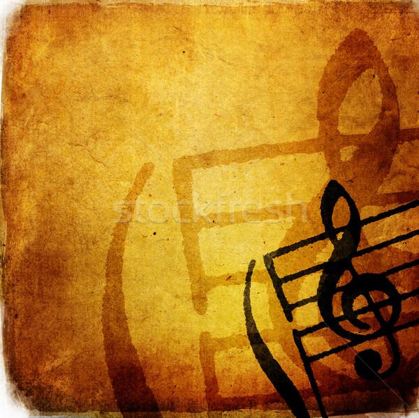 Grunge dallam absztrakt textúrák hátterek űr Stock fotó © ilolab