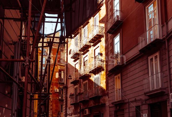 Napoli şehir İtalya Avrupa Stok fotoğraf © ilolab
