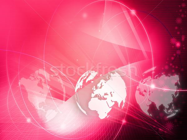 Europie Pokaż technologii stylu streszczenie Zdjęcia stock © ilolab