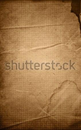 Vieux minable papier textures parfait espace Photo stock © ilolab