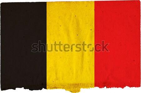 Bandera vintage textura mundo wallpaper Foto stock © ilolab