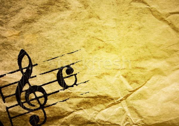 grunge melody  Stock photo © ilolab