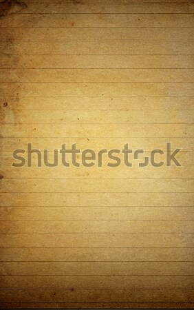 Stock photo: grunge textures blank note paper