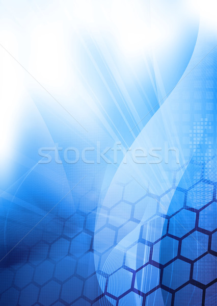Stock photo: abstract Cool waves