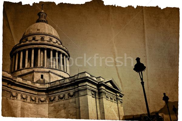 old-fashioned paris france Stock photo © ilolab