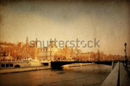 Сток-фото: красивой · парижский · улиц · Париж · Франция · пространстве