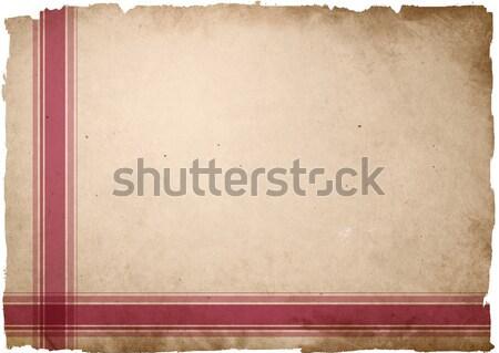 Sehr detaillierte Grunge Rahmen Raum Textur Stock foto © ilolab