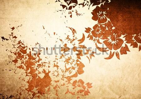 Asia stile texture sfondi abstract design Foto d'archivio © ilolab