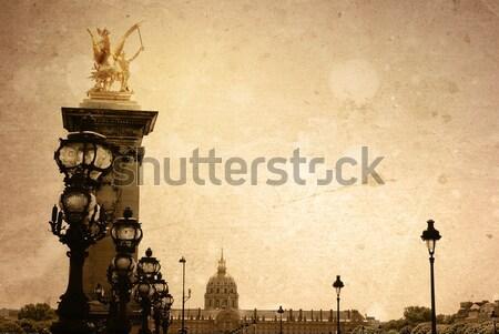 Сток-фото: красивой · парижский · улиц · пространстве · текста · изображение