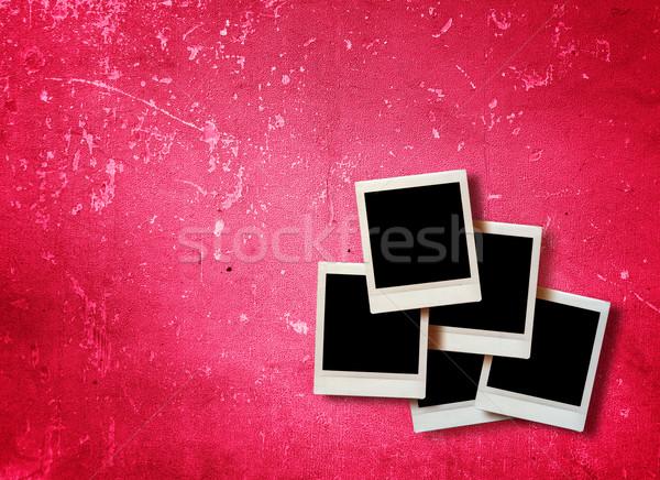 Vintage immediato foto grunge design sfondo Foto d'archivio © ilolab