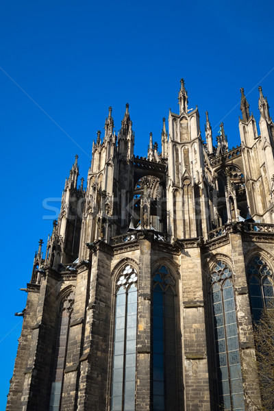 view of Gothic Cathedral in Cologne, Germany Stock photo © ilolab