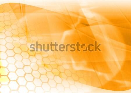 抽象的な クール 波 光 背景 スペース ストックフォト © ilolab