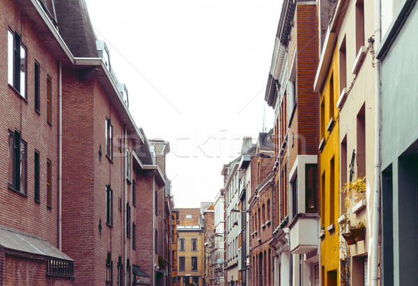 Beautiful street view of  Old town in Antwerp, Belgium Stock photo © ilolab