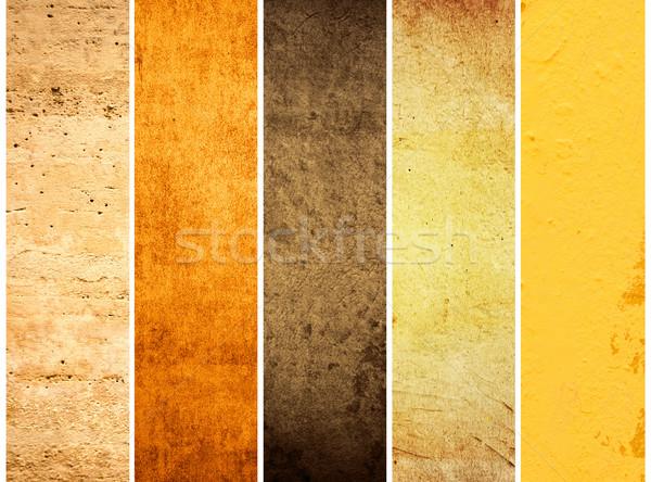 Besten Sammlung Wand Tapete Jahrgang antiken Stock foto © ilolab