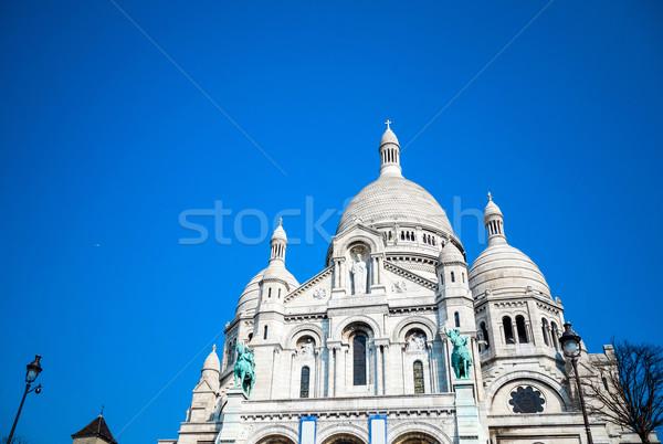 Templom kék utazás istentisztelet Isten Európa Stock fotó © ilolab