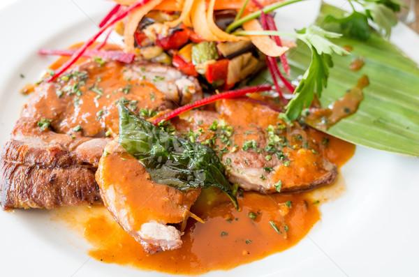 Exquisite French cuisine Stock photo © ilolab