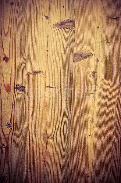 Vintage stained wooden wall background Stock photo © ilolab