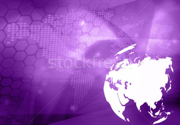 Asia Pokaż technologii stylu streszczenie Zdjęcia stock © ilolab