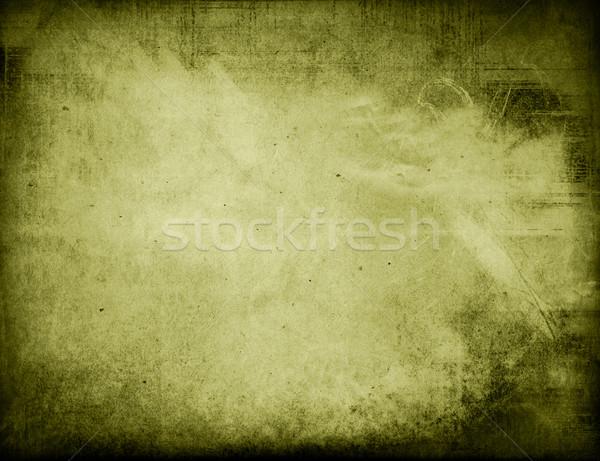 Sehr detaillierte Grunge Rahmen Raum Papier Stock foto © ilolab