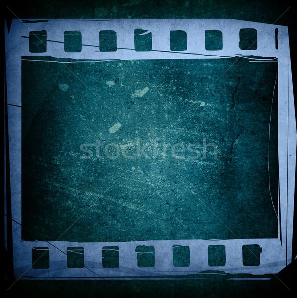Nagyszerű filmszalag sötét textúrák hátterek űr Stock fotó © ilolab