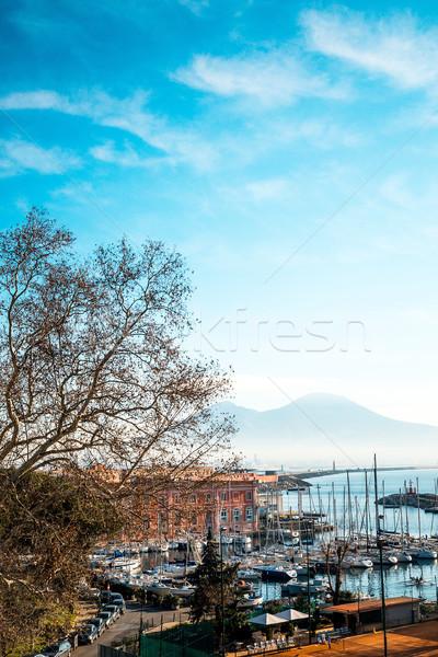 Foto d'archivio: Street · view · Napoli · porto · barche · Italia · Europa