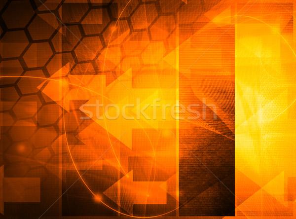 ストックフォト: 抽象的な · クール · 波 · 銀河 · パーフェクト · スペース