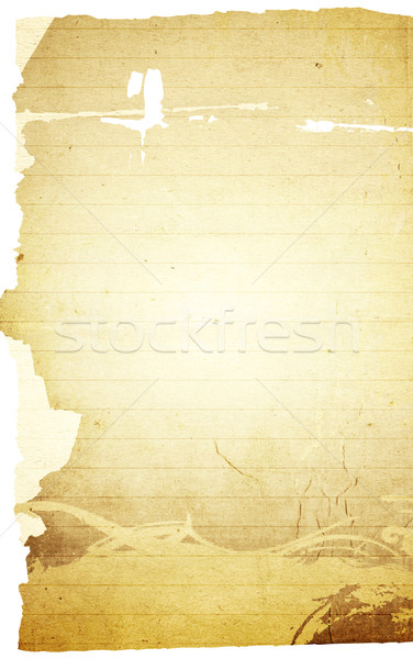 blank note paper background Stock photo © ilolab