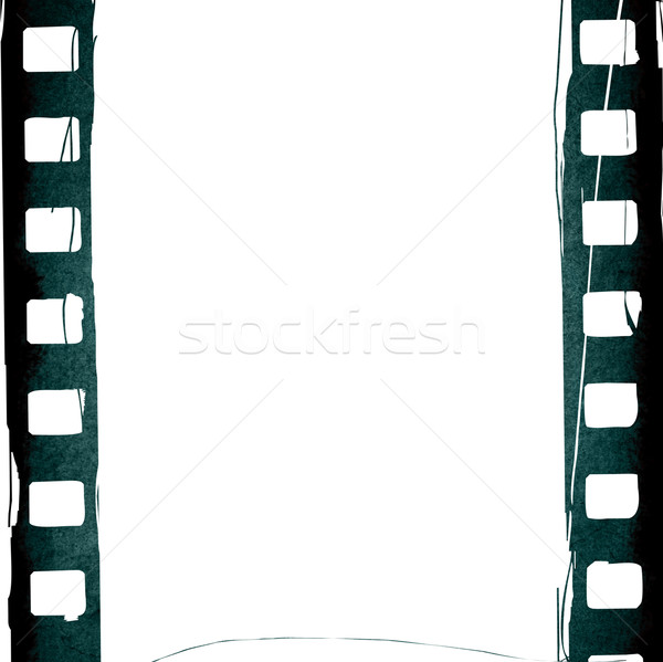 Grunge Film Frame Effect Stock Photo Ilolab 163660 Stockfresh