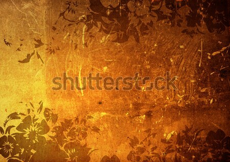 Stock photo: china style textures and backgrounds