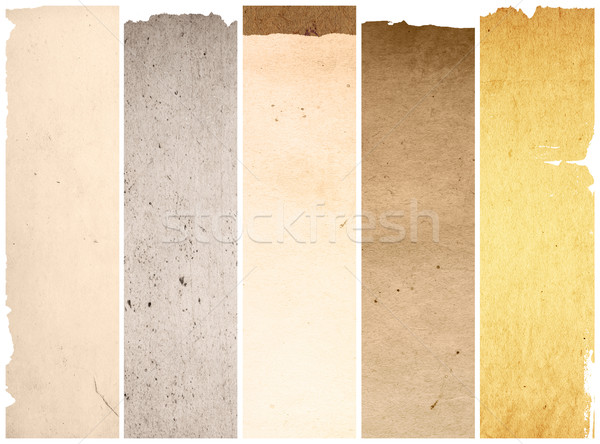 old and worn paper texture background Stock photo © ilolab