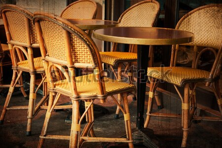 coffee terrace Stock photo © ilolab