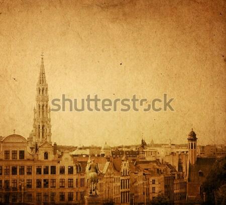 アンティーク 教会 金 教会建築 ヨーロッパ スペース ストックフォト © ilolab