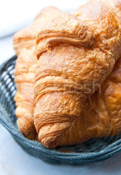 fresh croissant  Stock photo © ilolab