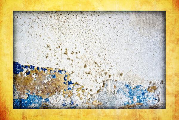 Frame dettagliato grunge spazio muro Foto d'archivio © ilolab