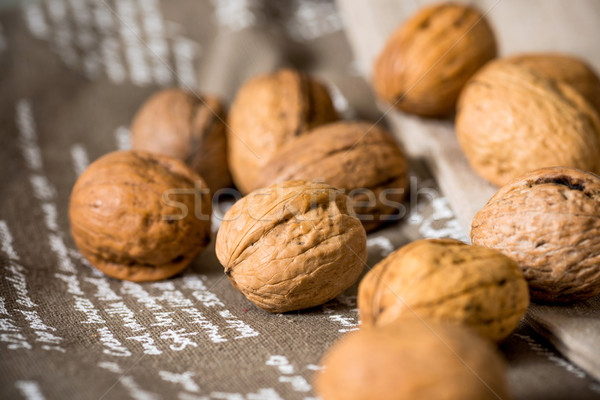 Vintage styled Mixed nuts  Stock photo © ilolab